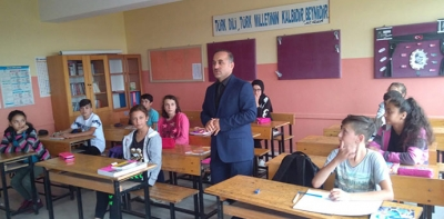 Uğur Sağlam, Kırsal Mahalle Okullarını Ziyaret Ediyor