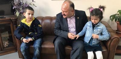Usta, Havzalı Çocukları Bağdat'ta Buldu