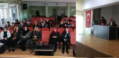 Usta Öğreticilere Bilgilendirme Toplantısı Yapıldı