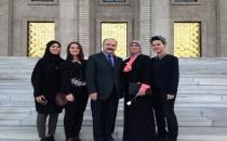Usta Türkiye Büyük Millet Meclisi'ne Kaydını Yaptırdı