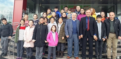 Vakıfbank Atatürk Ortaokuludan Sözenler Semavere Ziyaret