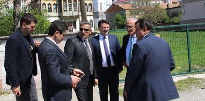 Vali Kaymak ve Büyükşehir Belediye Başkanı Yılmaz Havza Konaklarını inceledi