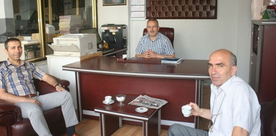 Vergi Dairesi Müdürü Sarıerikli'den İadeyi Ziyaret