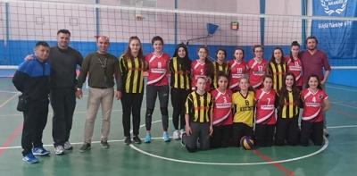 Voleybol Genç Kızlar Müsabakaları Tamamlandı