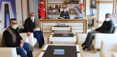 Yatırımcılardan Havza Belediye Başkanı Özdemir'e Ziyaret