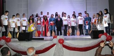 Yedi Bölge Yedi Renk Konseri Verildi