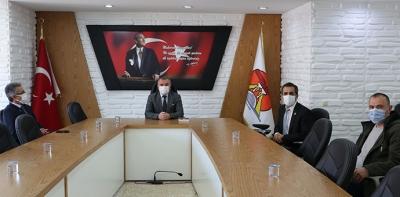 Yeniden Refah Partisi Yönetimi Ziyaretlerde Bulundu