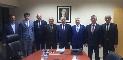Ziraat Odaları Başkanlarından Bakanlık Ziyareti